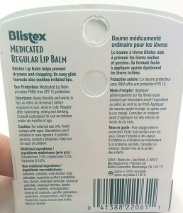 Blisteze ingredients